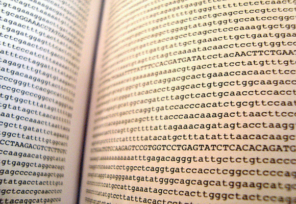 Human-Genome-Page-From-Book